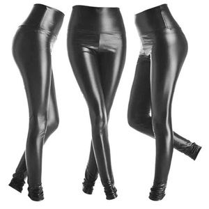 Pants - 💋Vegan leather high waist leggings SALE💋